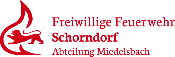 Logo der Freiwilligen Feuerwehr Schorndorf Abteilung Miedelsbach